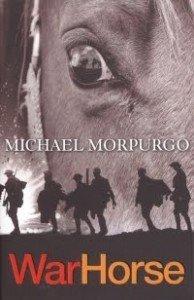 The poster for the play of Michael morpurgo's novel War Horse