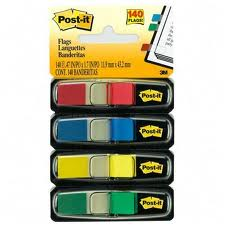 Post It Self Stick Colored Flags