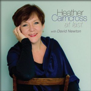 The CD artwork for At Last by Heather Cairncross with David Newton