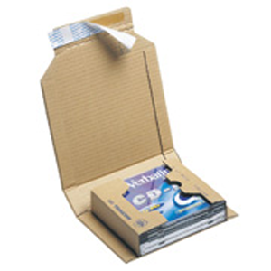 cardboard mailer for mutiple cds