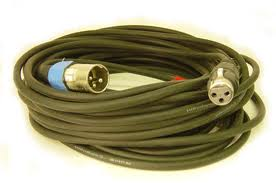 coiled xlr cable