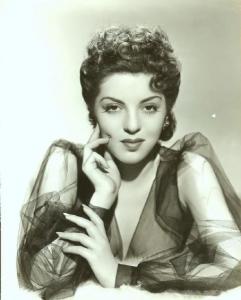 The singer Nan Wynn