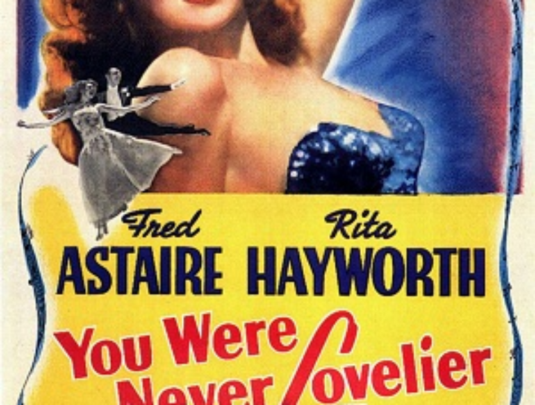 The original poster for the film You Were Never Lovlier