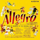Original Cast Album Cover for Allegro