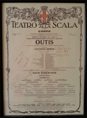 My La Scala poster for Outis