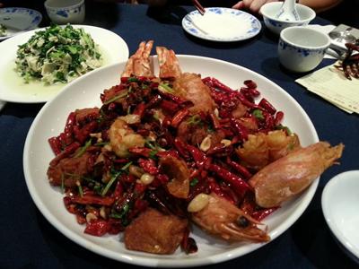 Chilli Shanghai Dinner