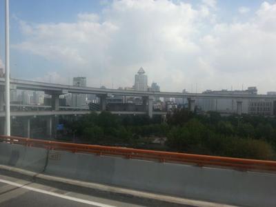 Shanghai flyover