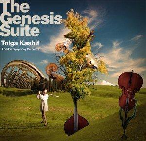 Original artwork for Tolga Kashif's The Genesis Suite Album