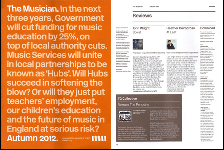 Review of At Last in the Musician Magazine