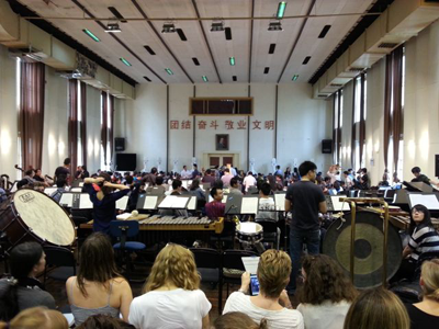 Shanghai Rehearsal Room
