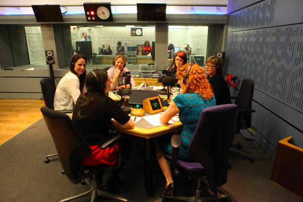 women in radio newspaper review recording